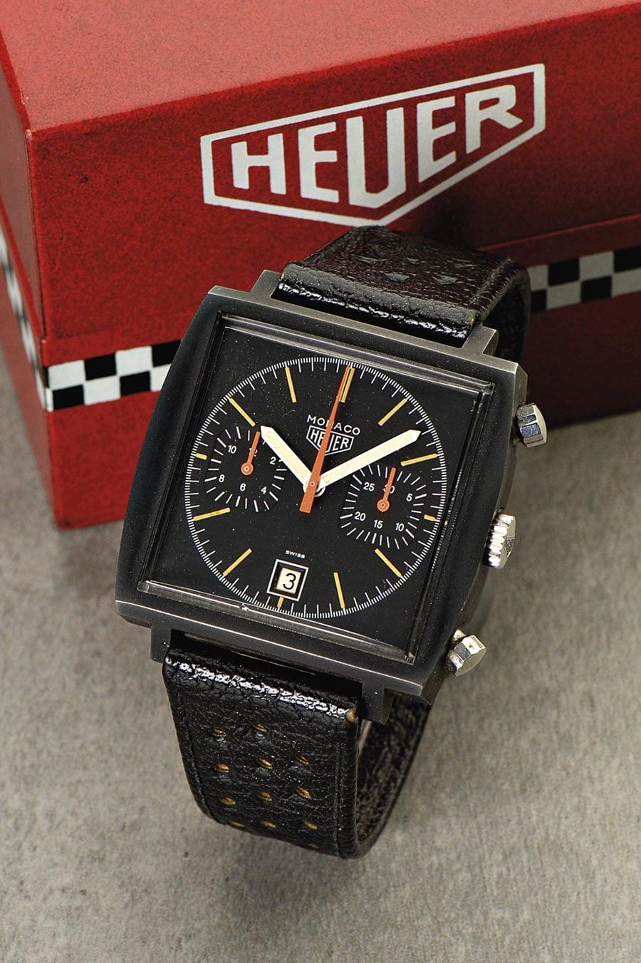 Heuer Monaco 'Dark Lord', Referenz 74033N