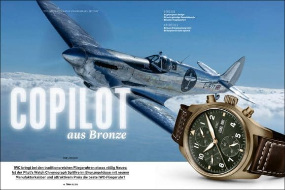 Test der IWC Pilot's Watch Chronograph Spitfire in Bronze