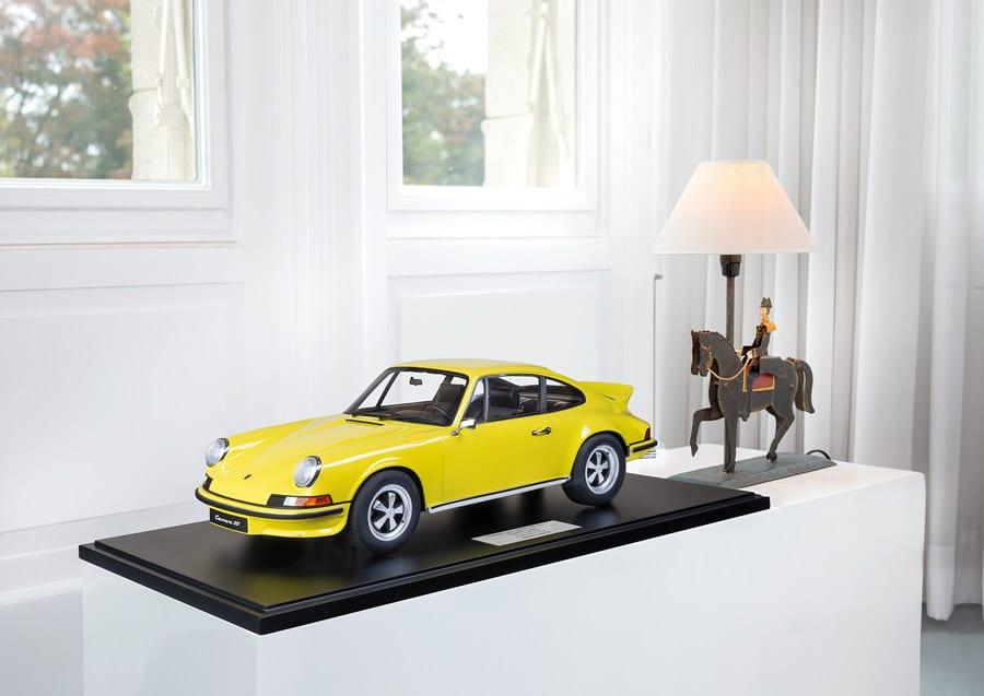 Minichamps: PORSCHE 911 CARRERA RS 2.7 TOURING – 1972 – GELB