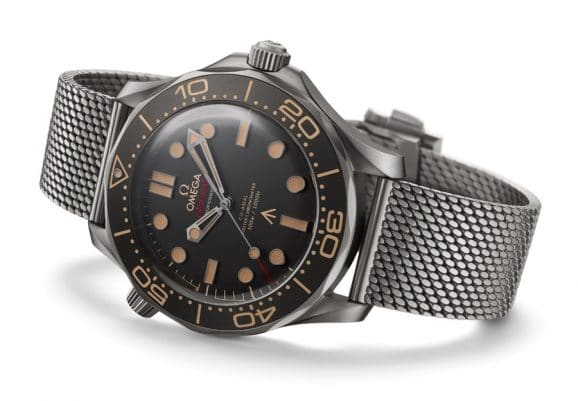 Neue James-Bond-Uhr: Omega Seamaster Diver 300M 007 Edition
