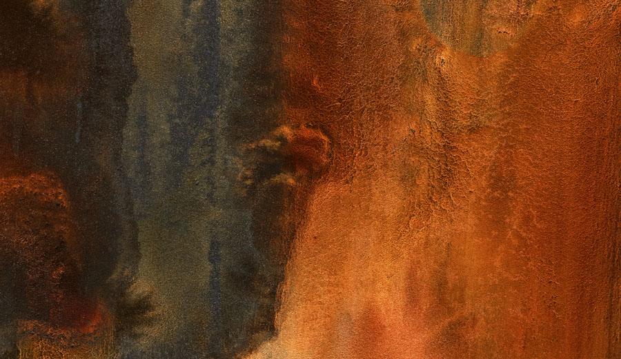 Oris: Big Crown Bronze Pointer Date, Zifferblattmaterial