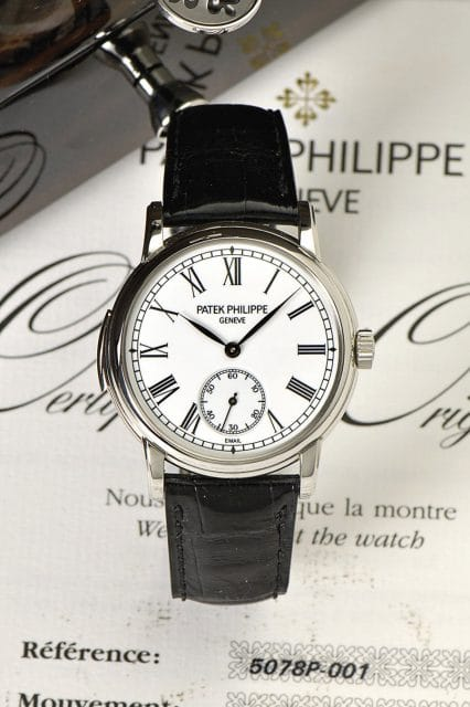 Minutenrepetition von Patek Philippe, Referenz. 5078