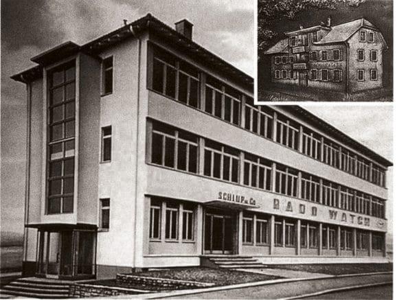 Die Geschichte von Rado beginnt 1917 im Elternhaus der Gebrüder Schlup in Lengnau bei Biel