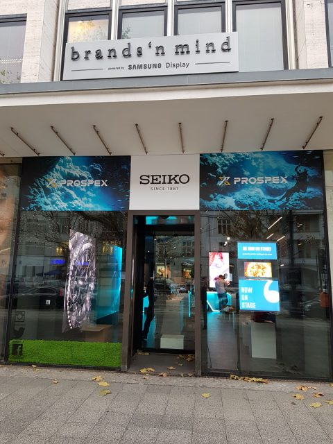 Seiko Prospex Pop Up Store in Berlin