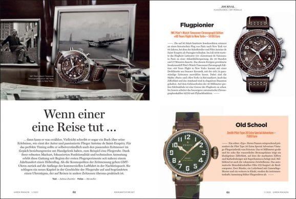 UHREN-MAGAZIN Heft 1/2020: Fliegeruhren