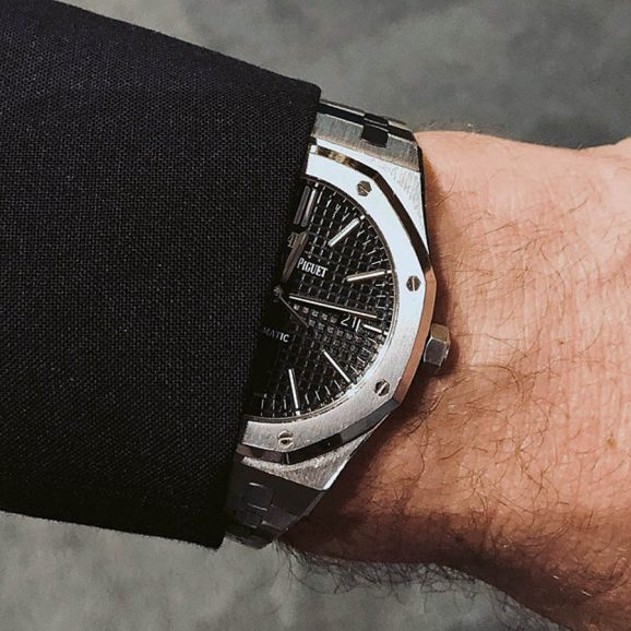 Wristshot: Audemars Piguet Royal Oak