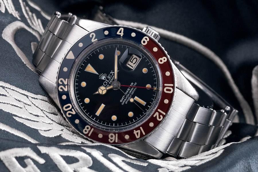 Rolex: die erste GMT-Master von 1954 (Referenz 6542)