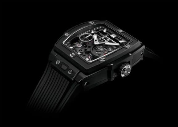 Hublot: Spirit of Big Bang Meca-10 in schwarzer Keramik