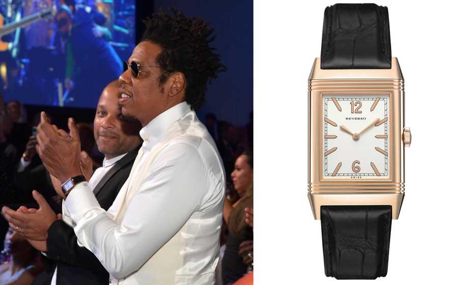 Promis und Uhren: Jaeger LeCoultre und Jay-Z