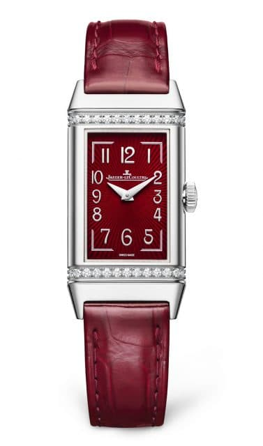 Jaeger-LeCoultre: Reverso One Monoface in Weinrot