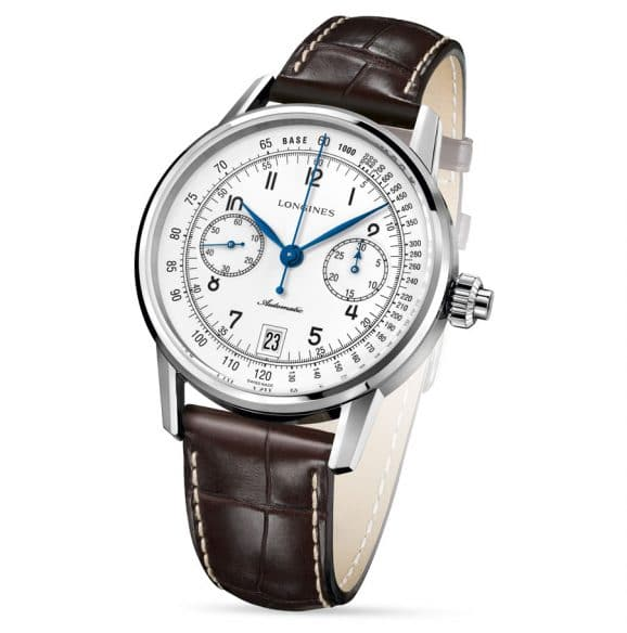 Longines: Heritage Column-Wheel Single Push-Piece Chronograph