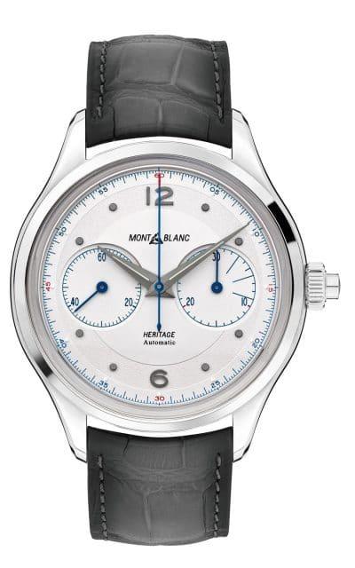 Montblanc: Heritage Monopusher Chronograph