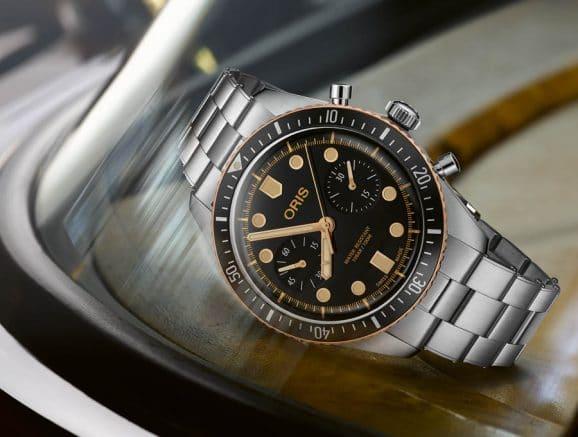 Oris: Divers Sixty-Five Chronograph