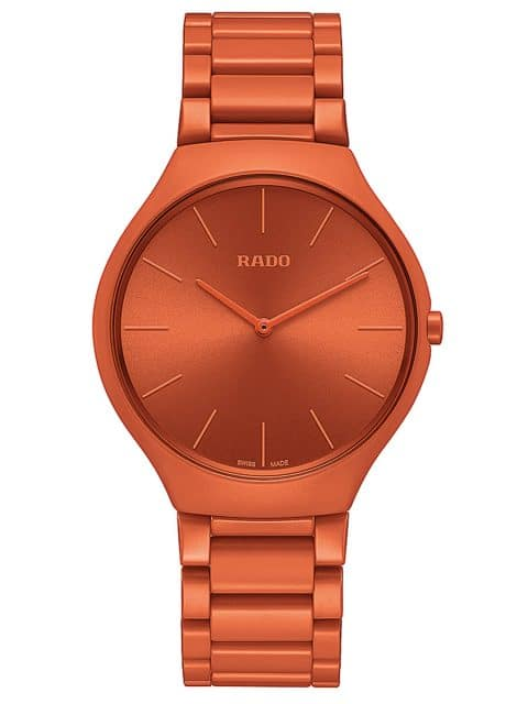 Rado: True Line in Orange