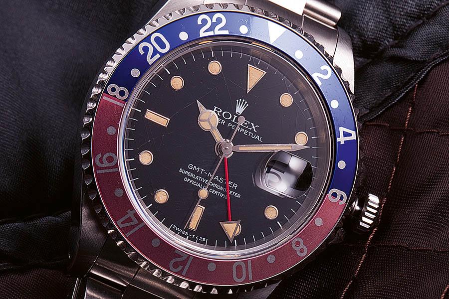 Rolex: GMT-Master Referenz 16750 von 1980