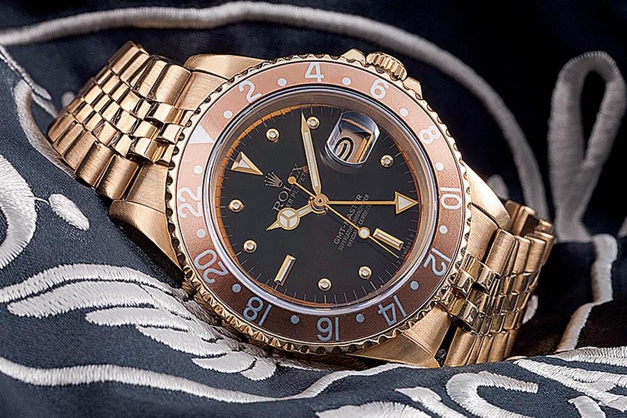 Rolex: GMT-Master in Gold