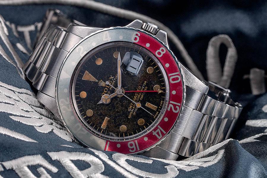 Rolex: GMT-Master Referenz 1675, wurde von 1959 bis 1980 produziert