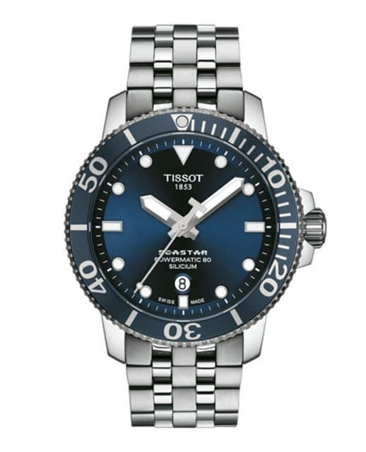 Tissot: Seastar 1000 Powermatic 80 Silicium