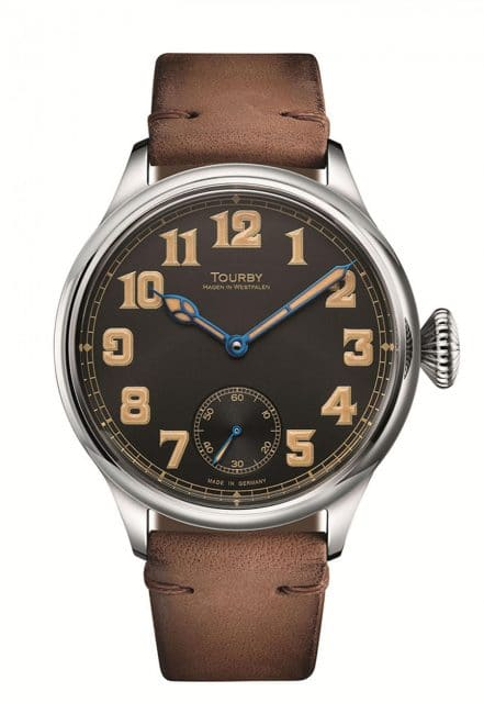 Tourby Watches: Old Military 45 Vintage Black