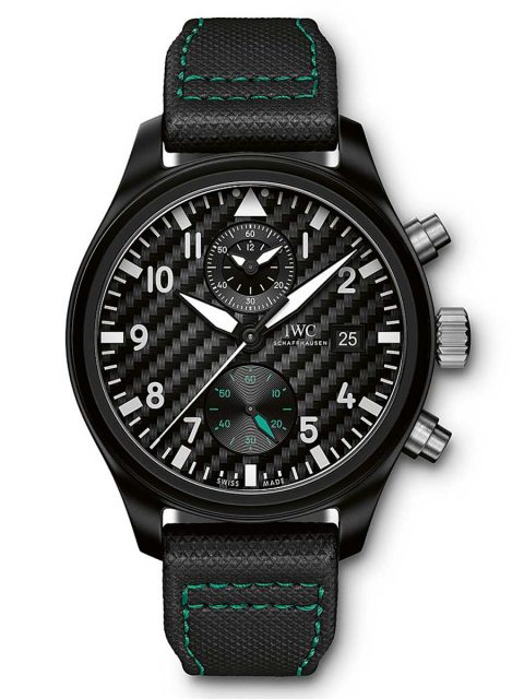 IWC: Pilots Watch Chronograph Edition Mercedes AMG Petronas Motorsport