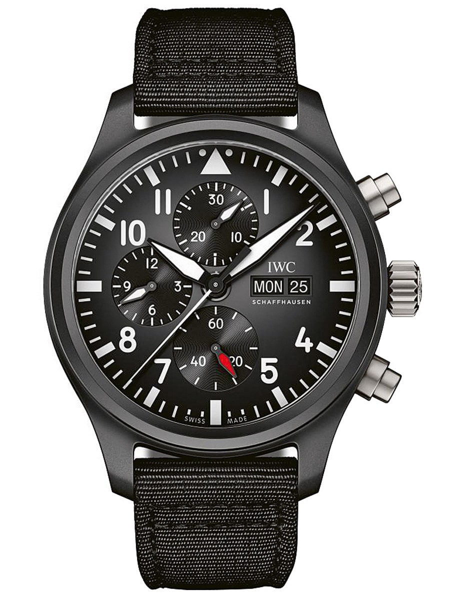 IWC Pilots Watch Chronograph Top Gun