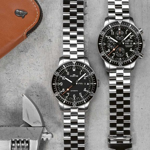 Fortis: Official Cosmonauts und Official Cosmonauts Chronograph