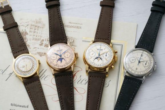 Das Auktionshaus Phillips versteigert vier Vintage-Uhren von Patek Philippe, die aktuell im Besitz von Jean-Claude Biver sind