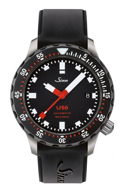 Sinn: U50 mit schwarzem Drehring (SDR)