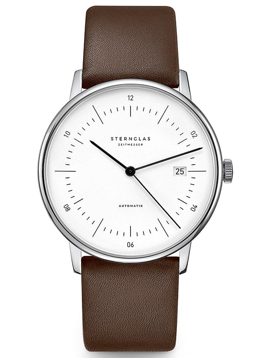 Die noch junge Uhrenmarke Sternglas Zeitmesser schafft es mit dem Modell Naos Automatik auf Anhieb auf den dritten Platz in der Kategorie bis 2.500 Euro.