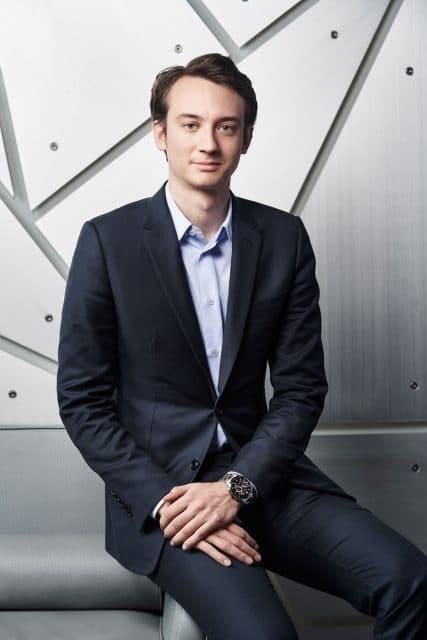 Frédéric Arnault, seit Juli 2020 CEO von TAG Heuer