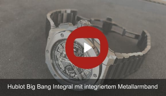Youtube-Vorschaubild: Hublot Big Bang Integral