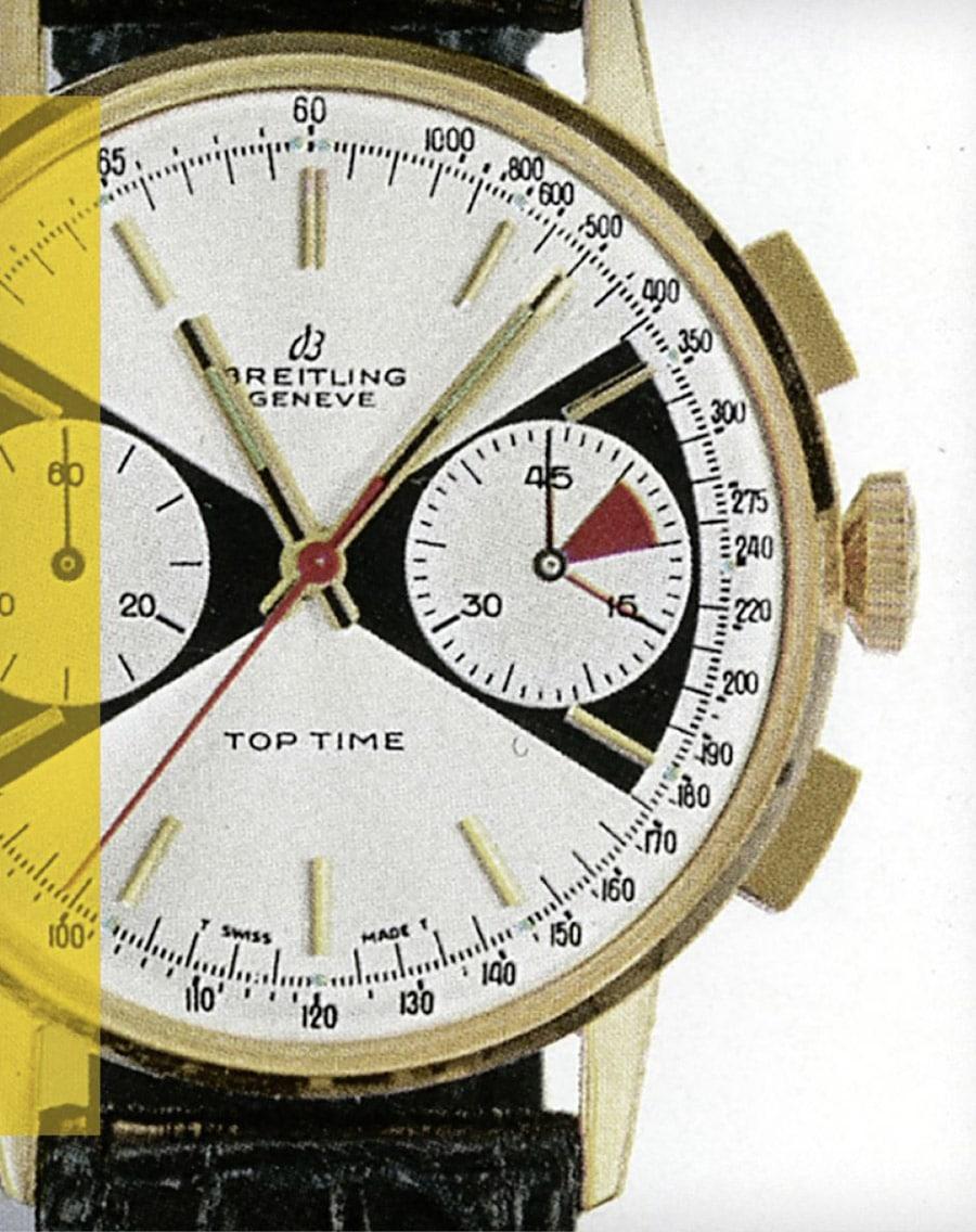 Original Breitling Top Time Referenz 2003 aus den 1960er-Jahren