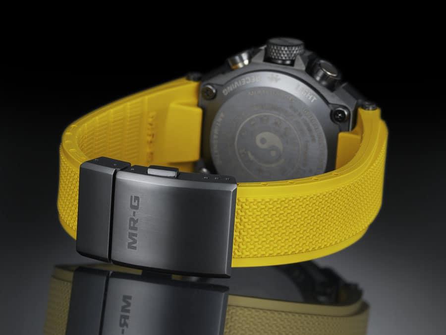 Die neue G-Shock M-RG ist robust vom Gehäuse bis zur Schließe
