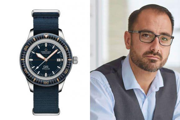 Chronos-Redakteur Alexander Krupp entscheidet sich für die Certina DS PH200M