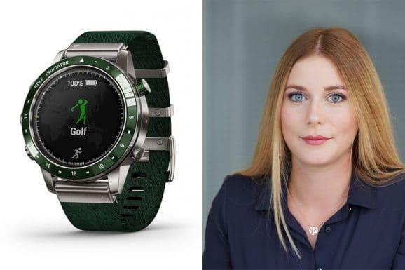 Nadja Ehrlich, verantwortliche Online-Redakteurin Watchtime.net, empfiehlt die Garmin Marq Golfer
