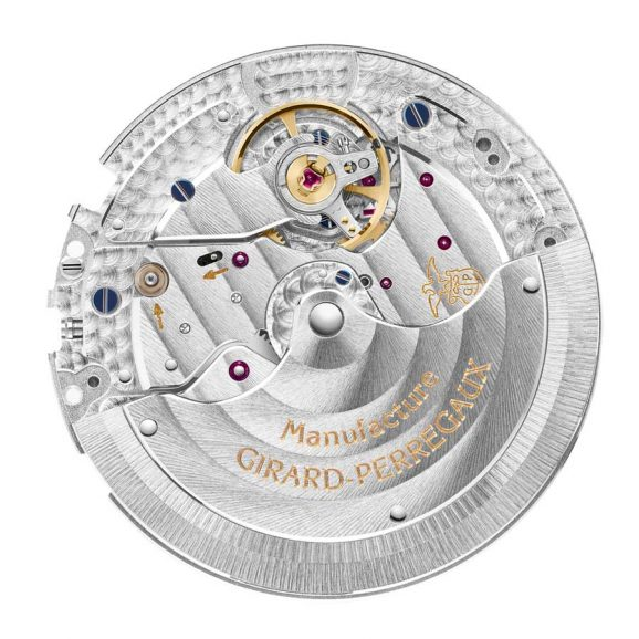 Girard-Perregaux: Laureato Chronograph Manufaktur-Basiskaliber