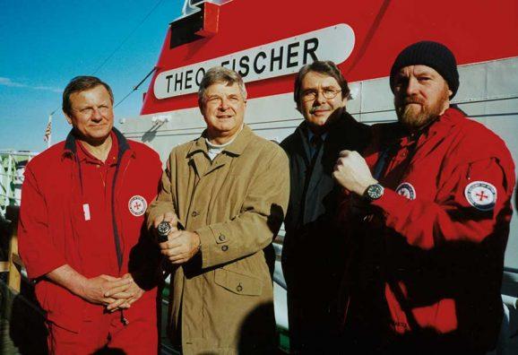 Mühle Glashütte und die Deutsche Gesellschaft zur Rettung Schiffbrüchiger