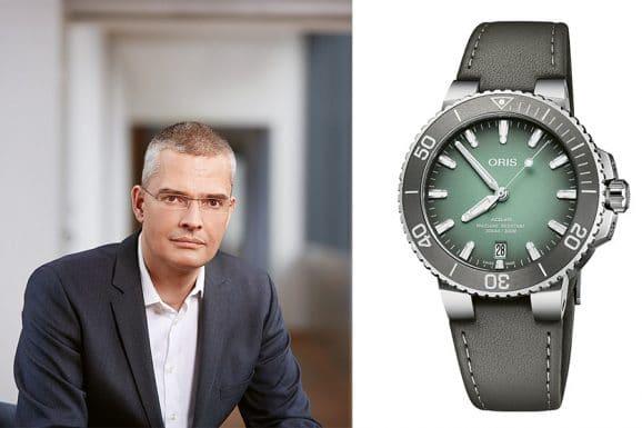 Tipp für eine bunte Uhr von Chronos-Chefredakteur Rüdiger Bucher: Oris Aquis Date