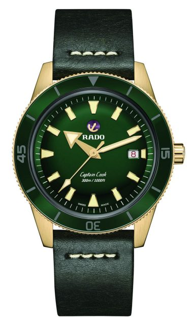 Rado: Captain Cook Bronze Automatik