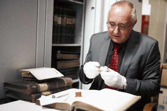 Reinhard Reichel: Leiter des deutschen Uhrenmuseums in Glashütte