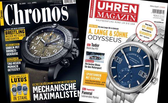Uhren-Magazin und Chronos 02.2020