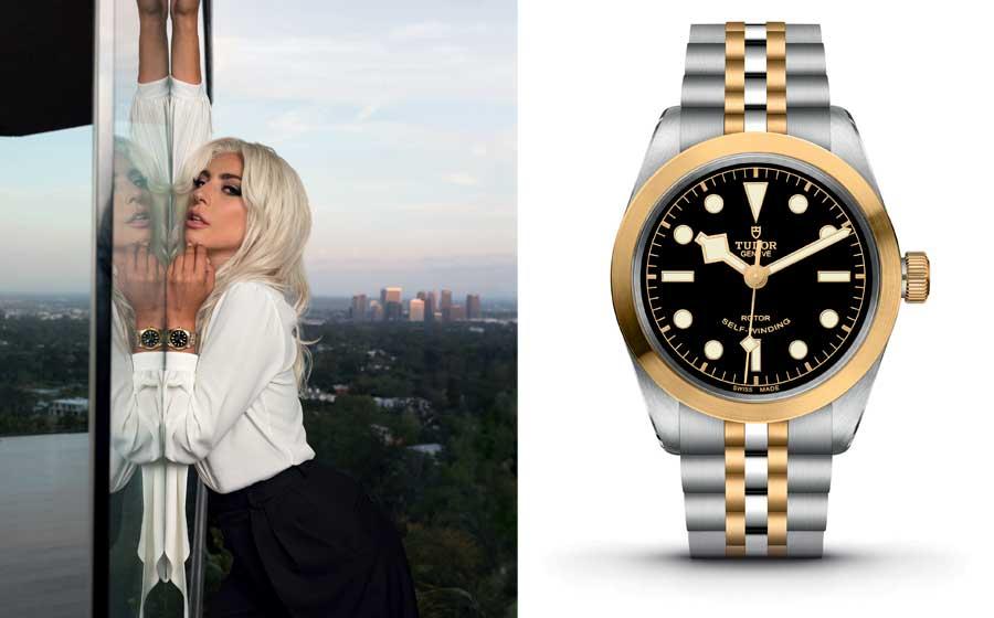 Promis und Uhren: Tudor und Lady Gaga