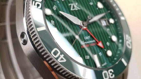 Zahnd & Kormann ZK No.2 GMT Closeup