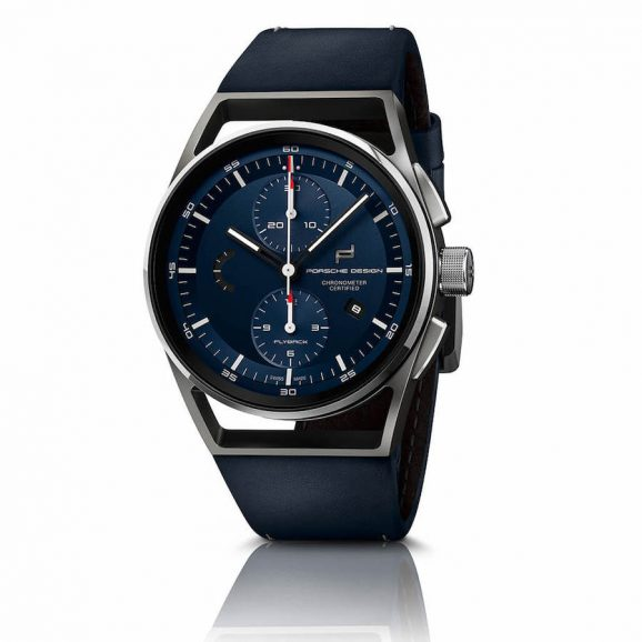 Porsche Design 1919 Chronotimer Flyback Blue & Leather