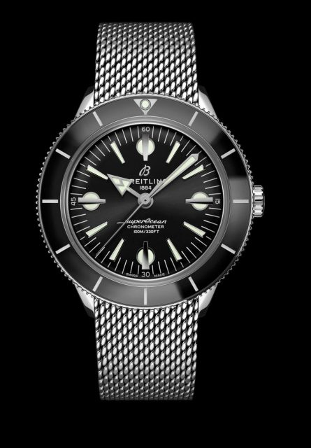 Breitling: Superocean Heritage '57 mit Stahlband