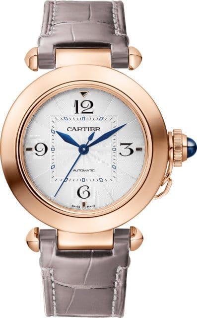 Cartier: Pasha de Cartier, 35 Millimeter in Roségold