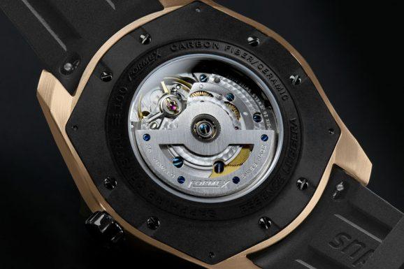 Rückseite der Formex Essence Oro Limited Edition