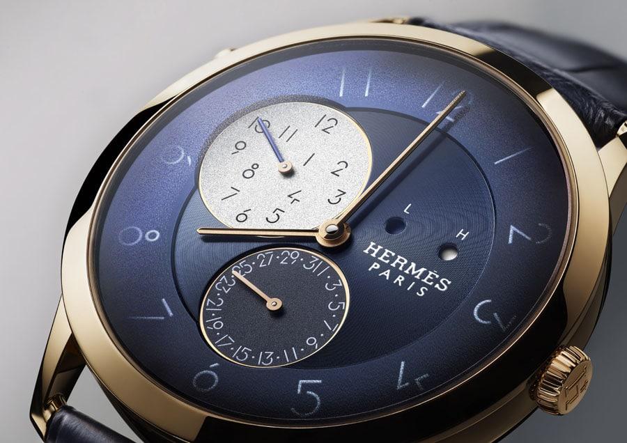 Hermès: Slim d'Hermès GMT