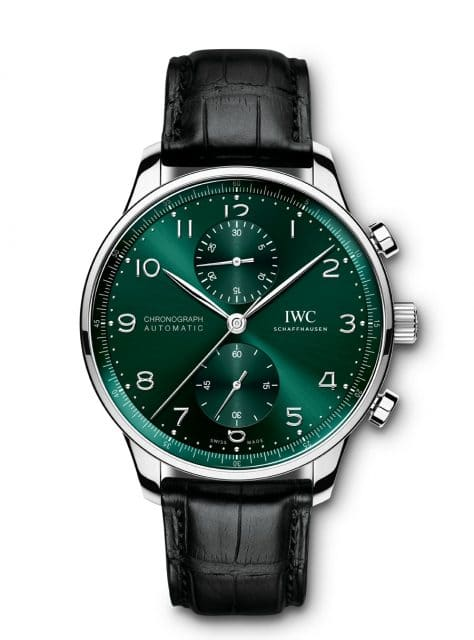 IWC: Portugieser Chronograph mit dem Kaliber 69355