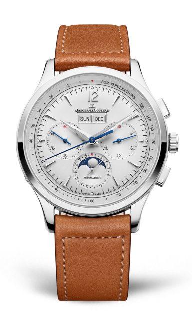 Jaeger-LeCoultre: Master Control Chronograph Calendar in Edelstahl